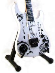 Metallica Kirk Hammett mini chitarra in legno