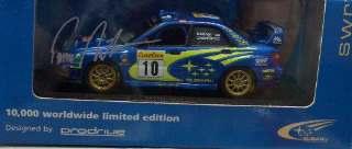 SUBARU WRC MONTECARLO '02 1/43