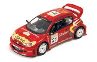 PEUG.206 WRC TURCHIA 2003 1/43