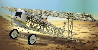 FOKKER D VII BALSA KIT  1200mm
