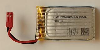 LiPo 3,7v 850mAh SPINA BEC