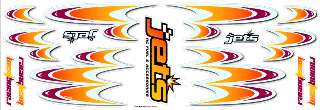 DECAL INTERNE      RACING TEAM