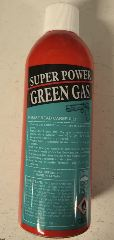 SUPER POWER GREEN GAS    600ml