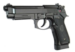 PISTOLA M9 BLOW BACK CO2  NERA