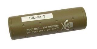 SILENZIATORE TAN LUNGO 110mm
