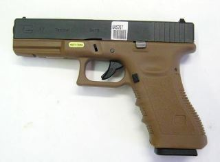 PISTOLA WE GLOCK G17 A GAS TAN
