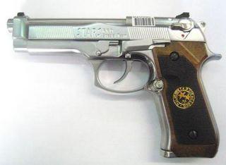 PISTOLA VIRUS M92F GAS  SILVER