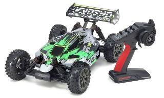 Inferno Neo 3.0VE verde 1/8 Brushless Kyosho montata