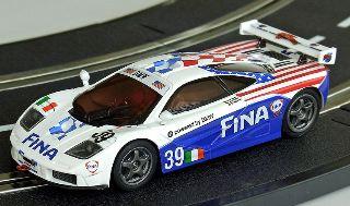 McLAREN F1 GT-R FINA SLOT 1/43