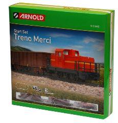 TRENO MERCI      SCALA N 1/160