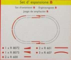 SET ESPANSIONE B   9 BINARI H0