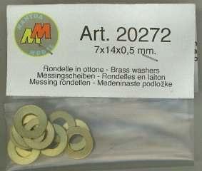 RONDELLA OTTONE     7x14x0,5mm