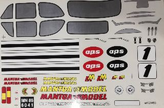 DECAL FIAT 500             1/8
