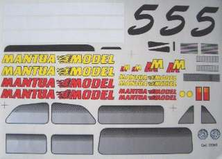 DECAL FIAT 500            1/10