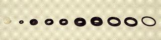 Serie O ring per aerografo 4700100