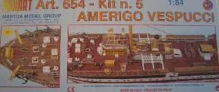 AMERIGO VESPUCCI KIT N.5  1/84