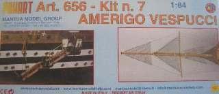 AMERIGO VESPUCCI KIT N.7  1/84