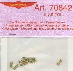 PIOMBINI BLOCCAGGIO 0,8mm 10pz
