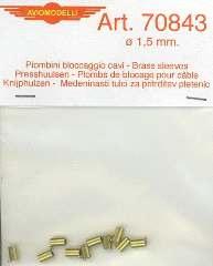 PIOMBINI BLOCCAGGIO 1,5mm 10pz