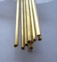 TUBETTO OTTONE 1,2x1,8mm  10pz