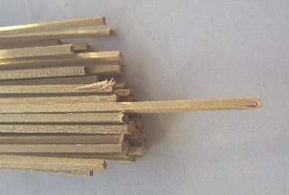 LISTELLI NOCE 1,5x1,5mm   50pz