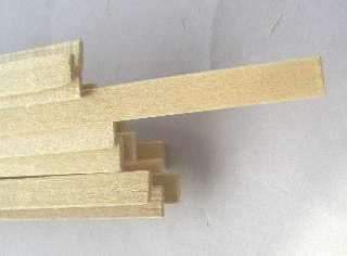 LISTELLI TIGLIO 1,5x6 mm  20pz