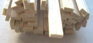LISTELLI BALSA mm 3x15    50pz