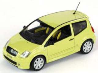 CITROEN C2 YELLOW         1/43