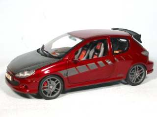 PEUGEOUT 206 GTI TUNERS   1/18