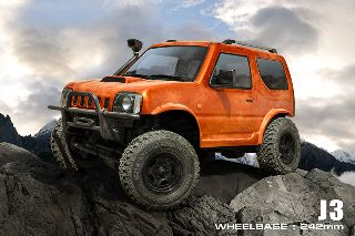 Suzuki Jimny MST CMX J3  Orange passo 242mm