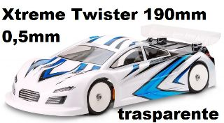 Carrozzeria Xtreme Twister 190mm 0,5mm trasparente