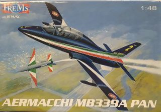 AERMACCHI MB339A PAN      1/48