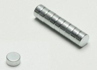MAGNETI ROTONDI 6x3x2mm   10pz