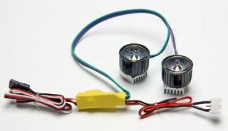 Faretti a LED molto potenti 500mAh 7,4v 2pz
