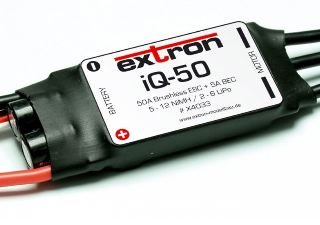 Regolatore Brushless iQ-50 Extron 50A
