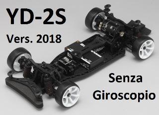 YOKOMO YD2S 2018    SENZA GYRO RWD DRIFT CAR CHASSIS PLASTICA