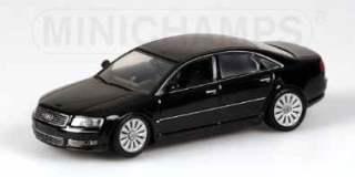 AUDI A8 2002 BLACK        1/43