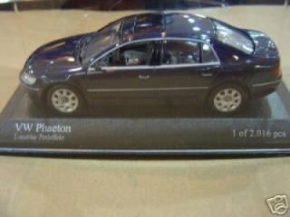 VW PHAETON 2002 METAL BLU 1/43