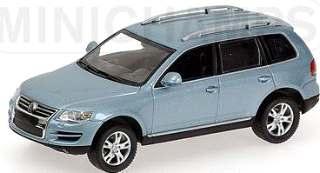 VW TOUAREG 2007 ARGENTO   1/43