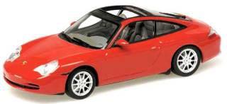 PORSCHE 911 TARGA '01 RED 1/43