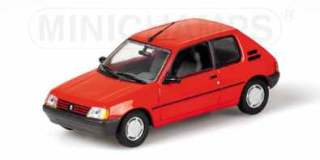 PEUGEOUT 205 XR '88 ROSSA 1/43