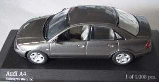 AUDI A4 1999 ARG.METAL    1/43