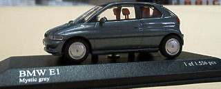 BMW W1 1993 GRIGIA METAL  1/43