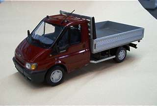 FORD TRANSIT RES METAL    1/43