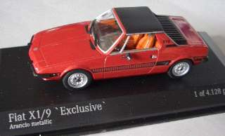 FIAT X 1/9 1972-78 BORDO' 1/43