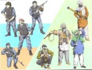 ANTI TERROR RUSS.'96-01   1/35