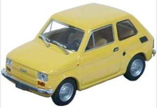 FIAT 126 GIALLO CHIARO    1/43