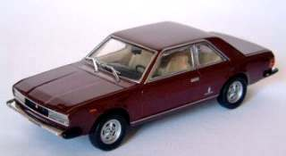FIAT 130 COUPE' ROSSA     1/43