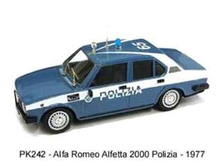 ALFA POLIZIA ALFETTA 2000 1/43