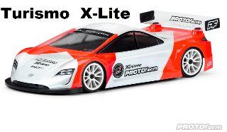 Carrozzeria Turismo 190mm 0,5mm X-Lite trasparente
